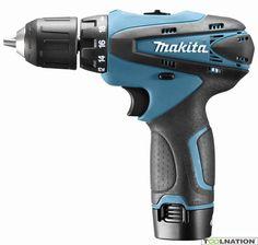 Makita DF330DWE 10,8 V Boor-/schroefmachine + 4 jaar dealer garantie!