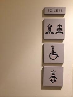 Kensington Palace toilets - no comments // Hyde Parc - London - /Furik VIGNAUD/