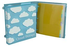 #Cloud #Storage Binder Kit - on Amazon http://amzn.to/1IOkr5I  Your own personal cloud to store documents, memorabilia, photos + more