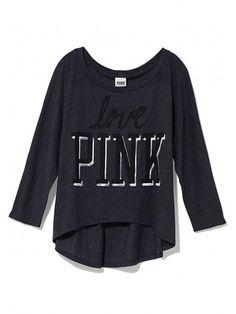 Victoria's Secret PINK Dolman Tee #VictoriasSecret http://www.victoriassecret.com/pink/new-arrivals/dolman-tee-victorias-secret-pink?ProductID=85868=OLS?cm_mmc=pinterest-_-product-_-x-_-x