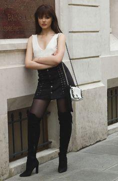 Kristina Bazan com Over The Knee