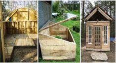 15 DIY Pallet Greenhouse Plans