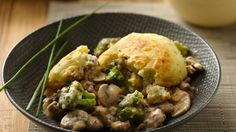When your family is hankering for meat and potatoes, put together this easy casserole.