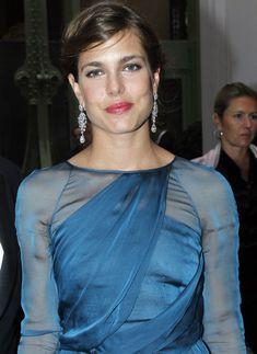 Carlota Casiraghi, el más bello primer plano de la Bienal de Anticuarios #royals #royalty