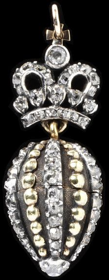 Catherine the Great pendant, unknown maker, 1790