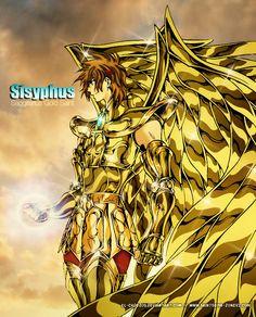 Saint Seiya - The Lost Canvas - Sagittarius Sisyphe