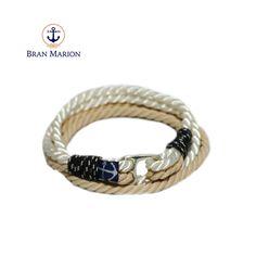 Surfer Bracelets, Bracelets For Men, Handmade Bracelets, Nautical Bracelet, Nautical Jewelry, Marine Rope, Rope Jewelry, Handmade Accessories, Anklet