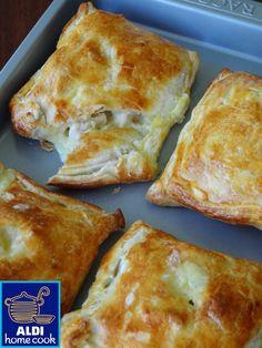 ALDI home cook: Creamy chicken & leek parcels