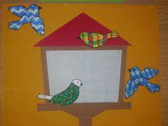 Dveře družiny - krmítko pro ptáky