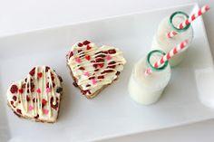 "Glorious Treats: Cranberry White Chocolate Bars {Recipe} ""Starbucks cranberry bliss bar"""