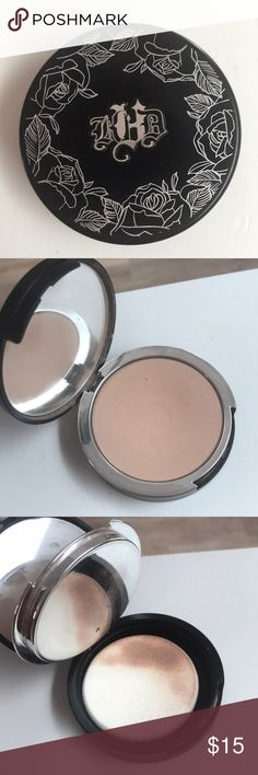 Used a few times-powder foundation light 46 Not my shade Kat Von D Makeup Foundation