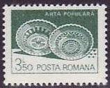 Znaczek: Ceramic plates, Leheceni (Rumunia) (Art) Mi:RO 3920X,Sn:RO 3107,Yt:RO 3423