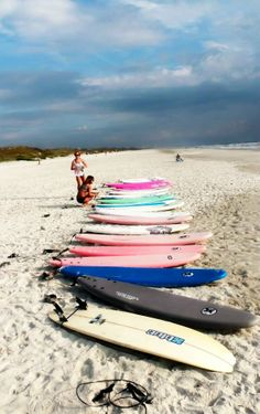 Time for surf class