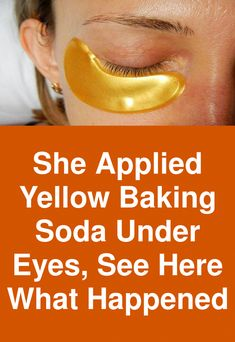 She applied yellow baking soda under eyes, see here what happened This recipe is very popular in India, effectively removes eye bags, dark circles and bags under eyes. With just one application of this mask prominently the sings of tiredness will retreat and the swollen and un- slept appearance will be gone. Ingredients: 1 teaspoon of baking soda 1/2 teaspoon of turmeric Few drops of lemon … #BumpsUnderEyes Baking Soda Under Eyes, Bumps Under Eyes, Beauty Hacks, Beauty Ideas, Beauty Tips, Under Eye Puffiness, Skin Care Tools, Dark Circles, Turmeric