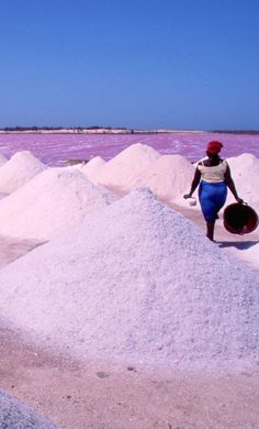 Out Of Africa, West Africa, Lake Retba Senegal, Lago Retba, Places To Travel, Places To See, Senegal Africa, Pink Lake, City Photography