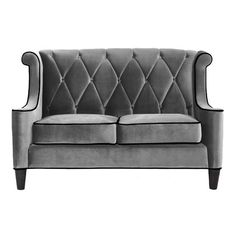 I pinned this Armen Living Barrister Loveseat from the sfa design event at Joss and Main!