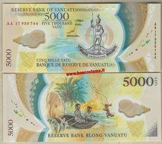 Vanuatu 5.000 Vatu 2017 unc polymer