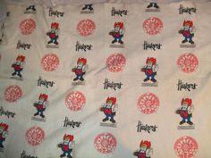 """Vintage 72""""x41x Nebraska Corn Huskers Collegiate Wool Throw Lap Blanket"""