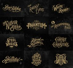 - Hand Lettering by Tobias Saul