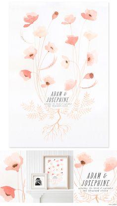 A beautiful (potential) wedding invitation design!