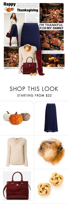 """I'm Thankful For My Family"" by diva1023 ❤ liked on Polyvore featuring Missoni, N.Peal, Ermanno Scervino, Vivienne Westwood and Tory Burch"