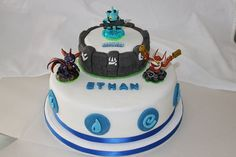 Image detail for -skylanders birthday cake by Turtle Birthday, Boy Birthday, Birthday Ideas, Turtle Party, Birthday Cakes, Slumber Party Games, Carnival Birthday Parties, Skylanders Party, Monster High Birthday