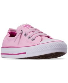 f1dd225fe60c Converse Women s Chuck Taylor Shoreline Slip Casual Sneakers from Finish  Line - Pink 6 Finish Line