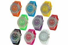 Wholesale Lot of 12 Light Up Crystal Geneva Platinum Watch 3213 Geneva. $107.95. Wholesale Lot of 12 Light Up Crystal Geneva Platinum Watch 3213
