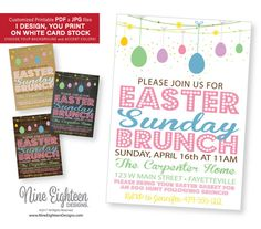10 Best New Easter INVITATIONS Images In 2017