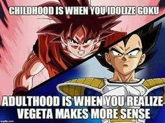 I loved Vegeta as a kid, he was a badass character Son Goku, Super Saiyan, Goku And Vegeta, Piccolo Dbz, Dragon Ball Z, Kai, Dbz Memes, Awesome Anime, Trunks