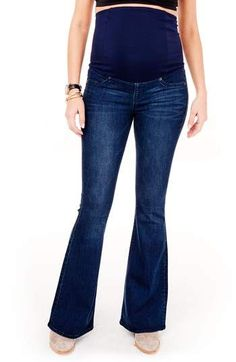 Ingrid & Isabel(R) Gracie Flare Maternity Jeans.  #ad