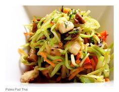 I will have to try this one out for my paelo parents... Paleo Pad Thai that uses Trader Joe's Organic Broccoli Slaw as a substitution for rice noodles