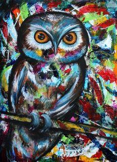owl by Joanne Abbott
