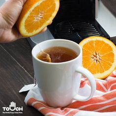 Not a fan of lemon? Try orange! Adding any citrus will boost the power of your tea's antioxidants.