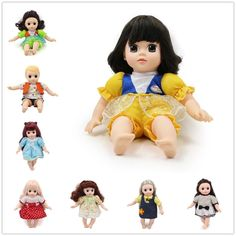 Dolls & Stuffed Toys Official Website 1pc Doll Head Brown Meatball Head Styles For 9 Doll For Birthday Gift