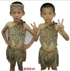 $25.87 Child leopard print flower costumes for kids child performance wear dance clothes  ,free shipping