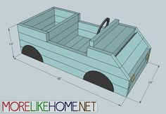 Ana White   Build a 2x4 Little Car   Free and Easy DIY Project and Furniture Plans