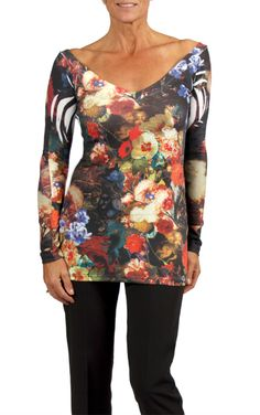 Floral prints are in this fall! Find this long sleeve, deep-v top today at a store near you! Also available online in Canada, at shop.cartise.com. #floral #fall fashion #deepv #longsleeve #rhinestones #coloryourlife #cartise Fall Fashion, Favorite Things, Floral Prints, Tunic Tops, Canada, Deep, Store, Long Sleeve