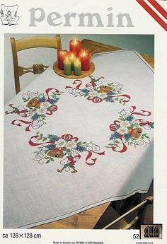 Gallery.ru / Фото #1 - 25 - IannaD  Christmas elves table cloth