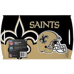 Siskiyou Gifts New Orleans Saints Melamine Serving Tray