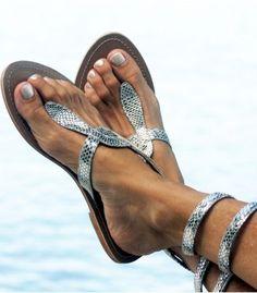 5e0dc2f3a27d65 Aspiga Cobra - Grecian Glam Silver Sandals