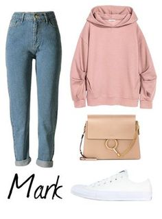 kpop fashion A fashion look from January 2017 by gotoutfits featuring Converse and Chlo Kpop Fashion Outfits, Korean Outfits, Swag Outfits, Cute Casual Outfits, Chic Outfits, Teenager Outfits, College Outfits, Look Fashion, Korean Fashion