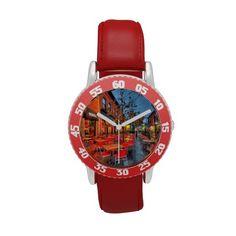 Street Reflections Wrist Watch
