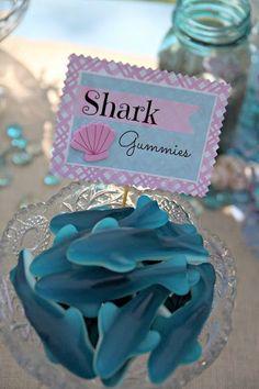 Conheça lindas fotos com ideias bacanas para decorar uma festa com o tema Fundo do Mar.