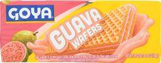 GOYA: Guava Wafer, 4.94 oz Wafer Cookies, Burger King Logo, Yummy Snacks, Pineapple, Mango, Vanilla, Lunch Box, Strawberry, Coconut