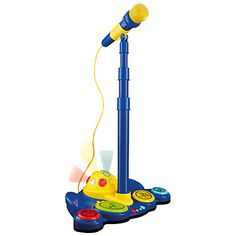 Buy John Lewis & Partners Microphone & Stand from our Musical Toys range at John Lewis & Partners. Kids Microphone, Kids Singing, Musical Toys, Christmas 2014, Xmas, John Lewis, Outdoor Power Equipment, Kids Toys, Presents
