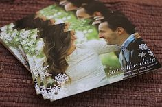 A great blog post detailing step by step DIY Save the Date postcards. Is this what you were talking about Lindsey for the photographer to do?