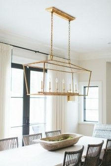 Simplistic light and airy dining room design  | Kate Marker Interiors