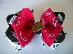 Little cowgirl bow