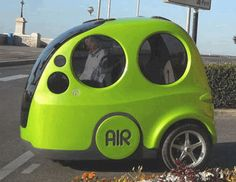 The AIRPod is the culmination of MDI studies on pollution and urban mobility See www.mdi.lu/...